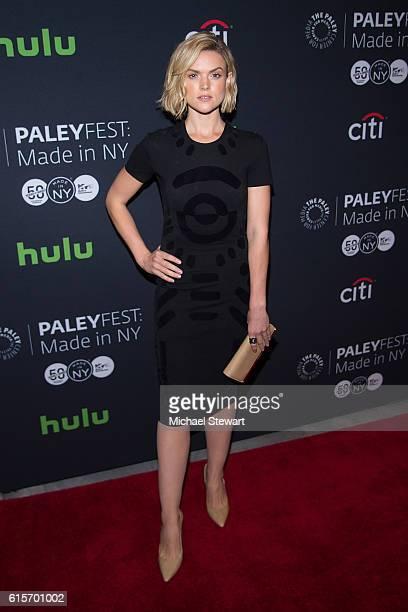 Actress Erin Richards attends PaleyFest New York 2016 presents 'Gotham' at The Paley Center for Media on October 19 2016 in New York City