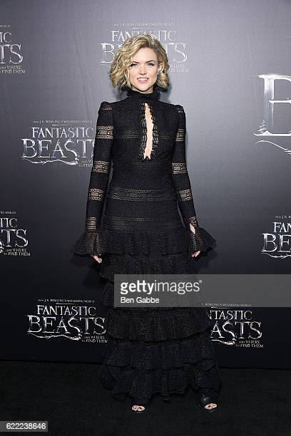 Actress Erin Richards attends the 'Fantastic Beasts And Where To Find Them' World Premiere at Alice Tully Hall Lincoln Center on November 10 2016 in...