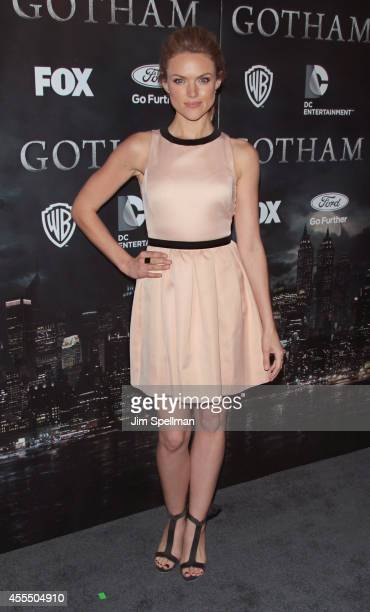 Actress Erin Richards attends the 'Gotham' Series Premiere at The New York Public Library on September 15 2014 in New York City