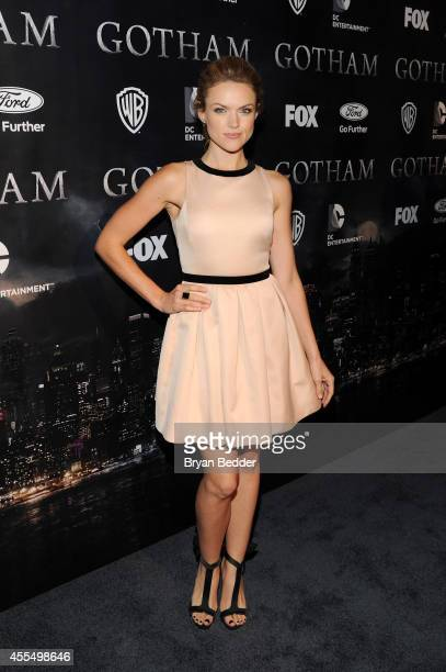 Actress Erin Richards attends the GOTHAM Series Premiere event on September 15 2014 in New York City