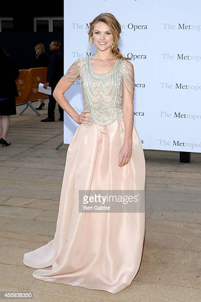Actress Erin Richards attends the Metropolitan Opera Season Opening at The Metropolitan Opera House on September 22 2014 in New York City
