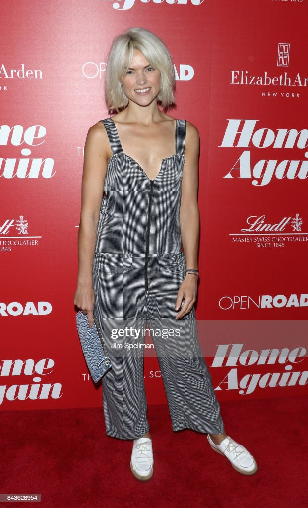 "The Cinema Society With Elizabeth Arden & Lindt Chocolate Host A Screening Of Open Road Films' ""Home Again"" - Arrivals"