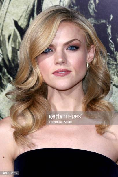 Actress Erin Richards attends the 'The Quiet Ones' Los Angeles premiere held at The Theatre At Ace Hotel on April 22 2014 in Los Angeles California