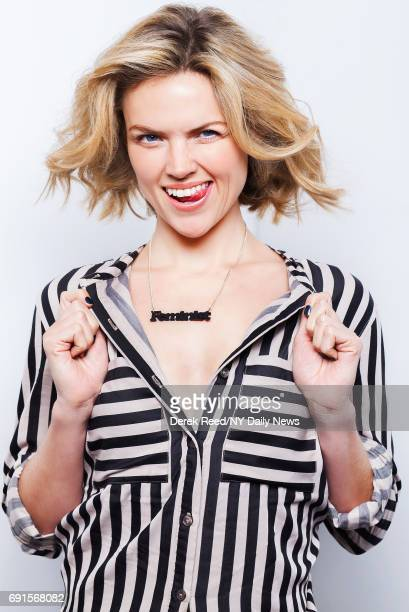 Actress Erin Richards is photographed for NY Daily News on October 3 in New York City