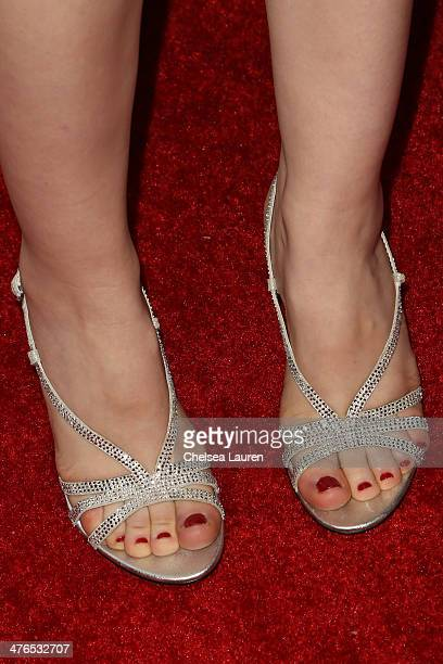 Actress Erin Sanders arrives at the Hellman Waters 4th annual salute to the stars Oscar event at W Hollywood on March 2 2014 in Hollywood California
