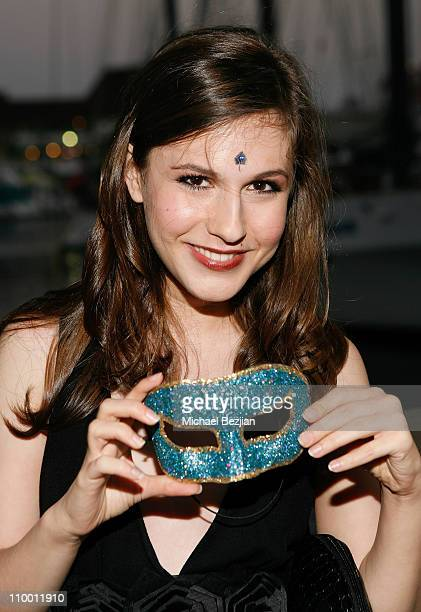 Actress Erin Sanders attends Jillian Clare's Sweet 16 Charity Benefit on July 25 2008 in Long Beach California