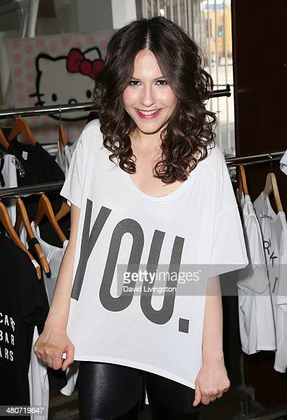 Actress Erin Sanders attends the Girl Scouts of the USA's Girl Scout Cookie Championship Giveaway winner presentation on March 26 2014 in Los Angeles...
