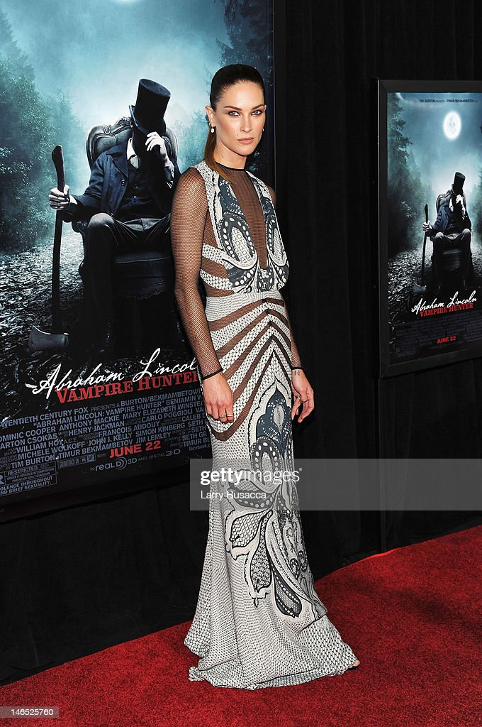 Actress <a gi-track='captionPersonalityLinkClicked' href=/galleries/search?phrase=Erin+Wasson&family=editorial&specificpeople=592102 ng-click='$event.stopPropagation()'>Erin Wasson</a> attends the 'Abraham Lincoln: Vampire Hunter' premiere at AMC Loews Lincoln Square on June 18, 2012 in New York City.