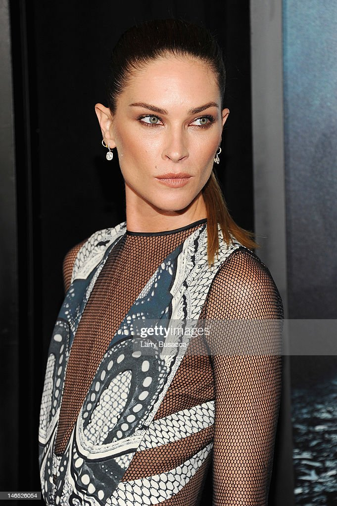 Actress Erin Wasson attends the 'Abraham Lincoln: Vampire Hunter' premiere at AMC Loews Lincoln Square on June 18, 2012 in New York City.