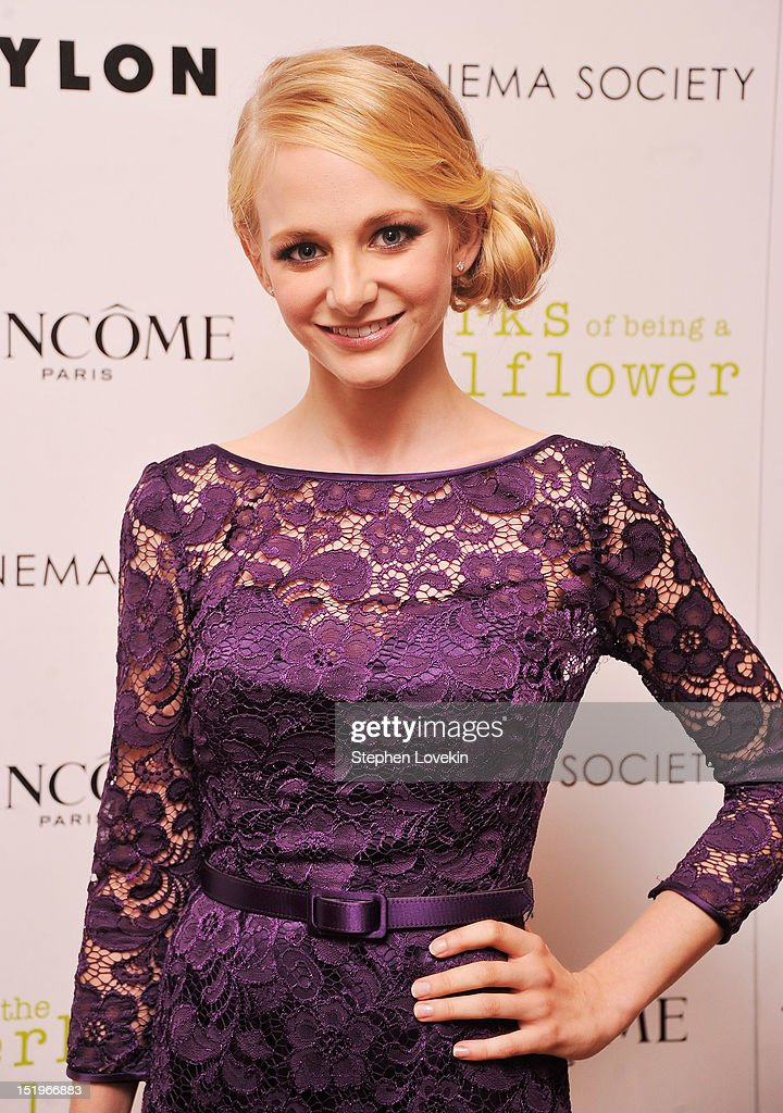 Actress <a gi-track='captionPersonalityLinkClicked' href=/galleries/search?phrase=Erin+Wilhelmi&family=editorial&specificpeople=9595956 ng-click='$event.stopPropagation()'>Erin Wilhelmi</a> attends The Cinema Society special screening of 'The Perks Of Being A Wall Flower' on September 13, 2012 in New York City.