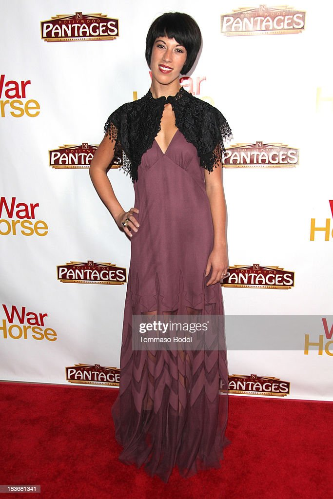 Actress Erin Willingham attends the 'War Horse' Los Angeles opening night held at the Pantages Theatre on October 8, 2013 in Hollywood, California.