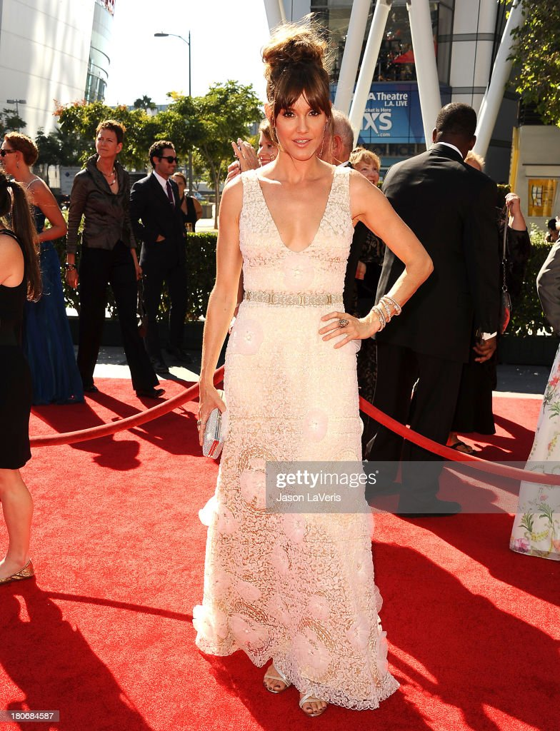 Actress Erinn Hayes attends the 2013 Creative Arts Emmy Awards at Nokia Theatre L.A. Live on September 15, 2013 in Los Angeles, California.