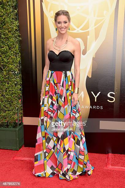 Actress Erinn Hayes attends the 2015 Creative Arts Emmy Awards at Microsoft Theater on September 12 2015 in Los Angeles California