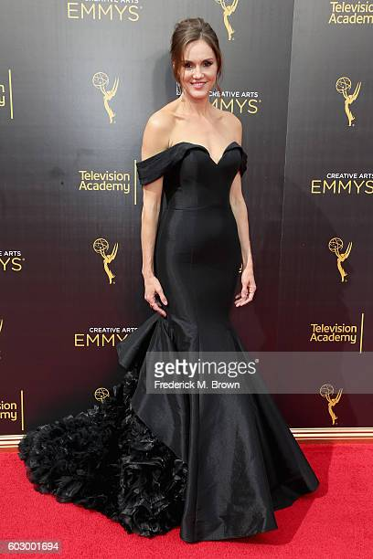 Actress Erinn Hayes attends the 2016 Creative Arts Emmy Awards at Microsoft Theater on September 11 2016 in Los Angeles California