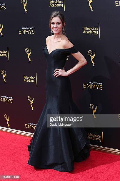 Actress Erinn Hayes attends the 2016 Creative Arts Emmy Awards Day 2 at the Microsoft Theater on September 11 2016 in Los Angeles California