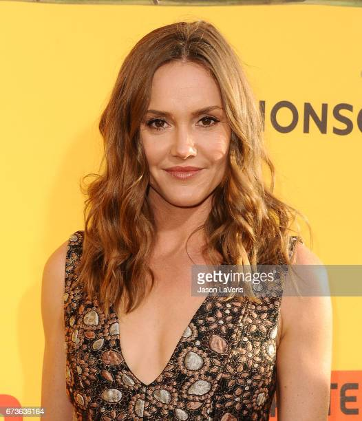 Actress Erinn Hayes attends the premiere of 'How to Be a Latin Lover' at ArcLight Cinemas Cinerama Dome on April 26 2017 in Hollywood California