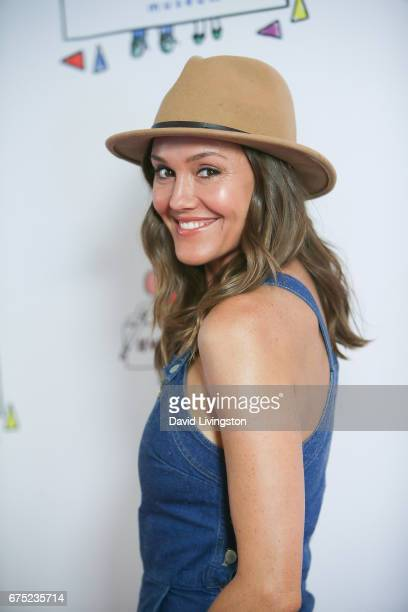 Actress Erinn Hayes attends the WE ALL PLAY FUNdraiser hosted by the Zimmer Children's Museum at the Zimmer Children's Museum on April 30 2017 in Los...