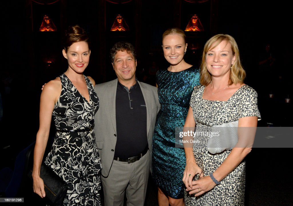 Actress Erinn Hayes, executive producer Jonathan Stern, actresses Malin Akerman and Erinn Hayes; Jonathan Stern; Malin Akerman;Zandy Hartig attend the 'Childrens Hospital' and 'NTSF:SD:SUV' screening event at the Vista Theatre on September 9, 2013 in Los Angeles, California. 24049_001_MD_0252.JPG