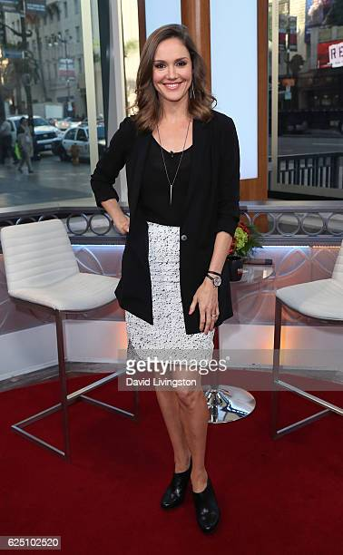 Actress Erinn Hayes visits Hollywood Today Live at W Hollywood on November 22 2016 in Hollywood California