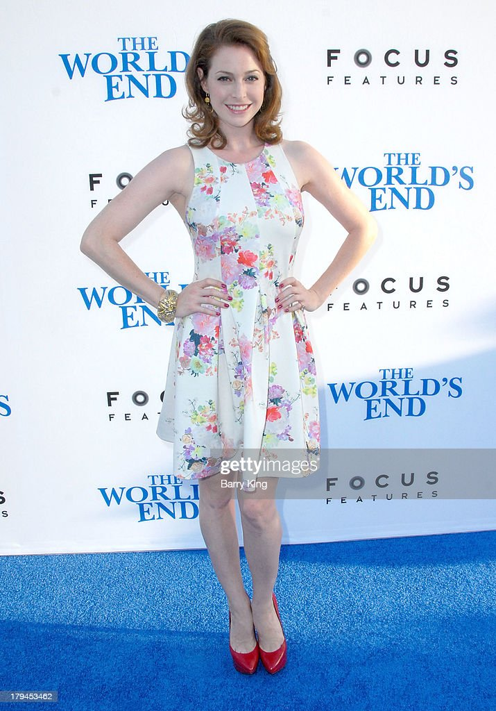 Actress <a gi-track='captionPersonalityLinkClicked' href=/galleries/search?phrase=Esme+Bianco&family=editorial&specificpeople=5348183 ng-click='$event.stopPropagation()'>Esme Bianco</a> arrives at the Los Angeles Premiere 'The World's End' on August 21, 2013 at ArcLight Cinemas Cinerama Dome in Hollywood, California.
