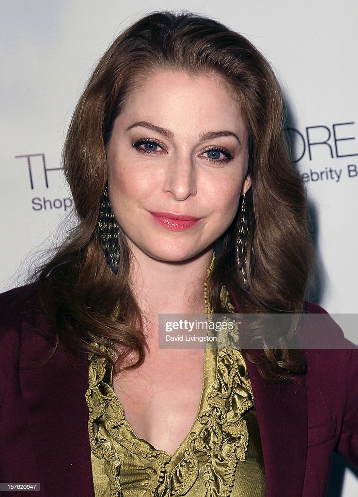 Actress Esme Bianco attends the Fredric Fekkai Salon holiday party at Frederic Fekkai Hair Salon on December 4, 2012 in West Hollywood, California.