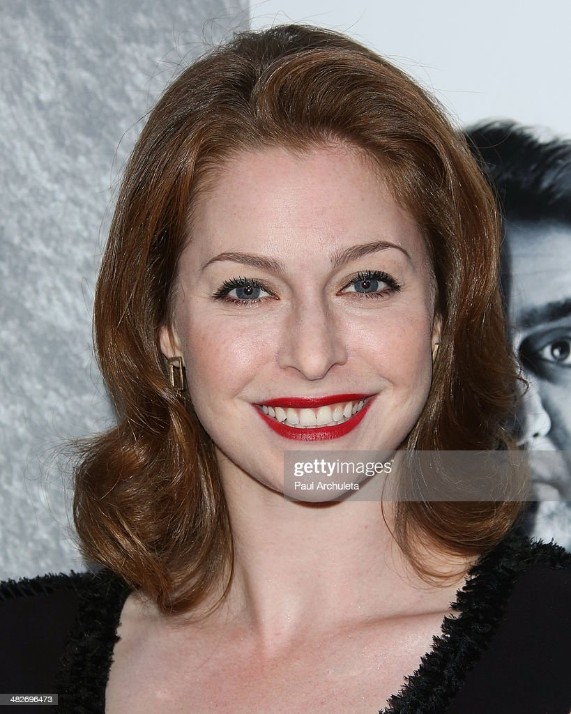 Actress Esme Bianco attends the premiere of HBO's 'Silicon Valley' at Paramount Studios on April 3, 2014 in Hollywood, California.