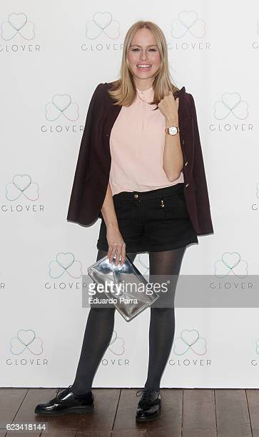 Actress Esmeralda Moya attends the 'Clover' photocall at Oscar hotel on November 15 2016 in Madrid Spain
