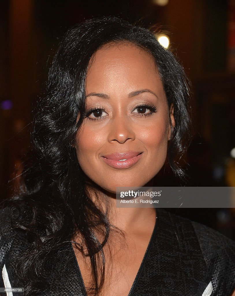 Actress <a gi-track='captionPersonalityLinkClicked' href=/galleries/search?phrase=Essence+Atkins&family=editorial&specificpeople=225171 ng-click='$event.stopPropagation()'>Essence Atkins</a> arrives to the premiere of Open Road Films' 'A Haunted House 2' at Regal Cinemas L.A. Live on April 16, 2014 in Los Angeles, California.