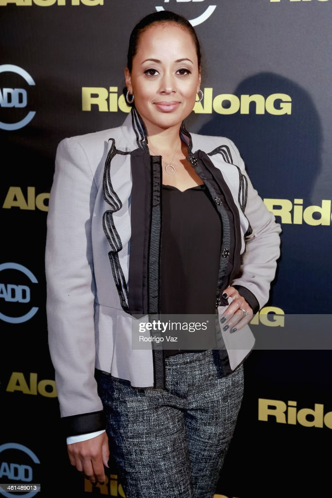Actress <a gi-track='captionPersonalityLinkClicked' href=/galleries/search?phrase=Essence+Atkins&family=editorial&specificpeople=225171 ng-click='$event.stopPropagation()'>Essence Atkins</a> attends the ADD Comedy Live! Special Screening of 'Ride Along' on January 8, 2014 in Los Angeles, California.