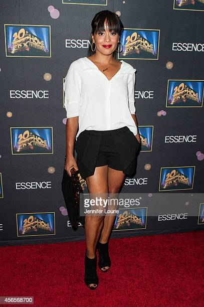 Actress Essence Atkins attends the Essence 'A Toast To Primetime' Event at the Herringbone Mondrian LA on October 2 2014 in Beverly Hills California