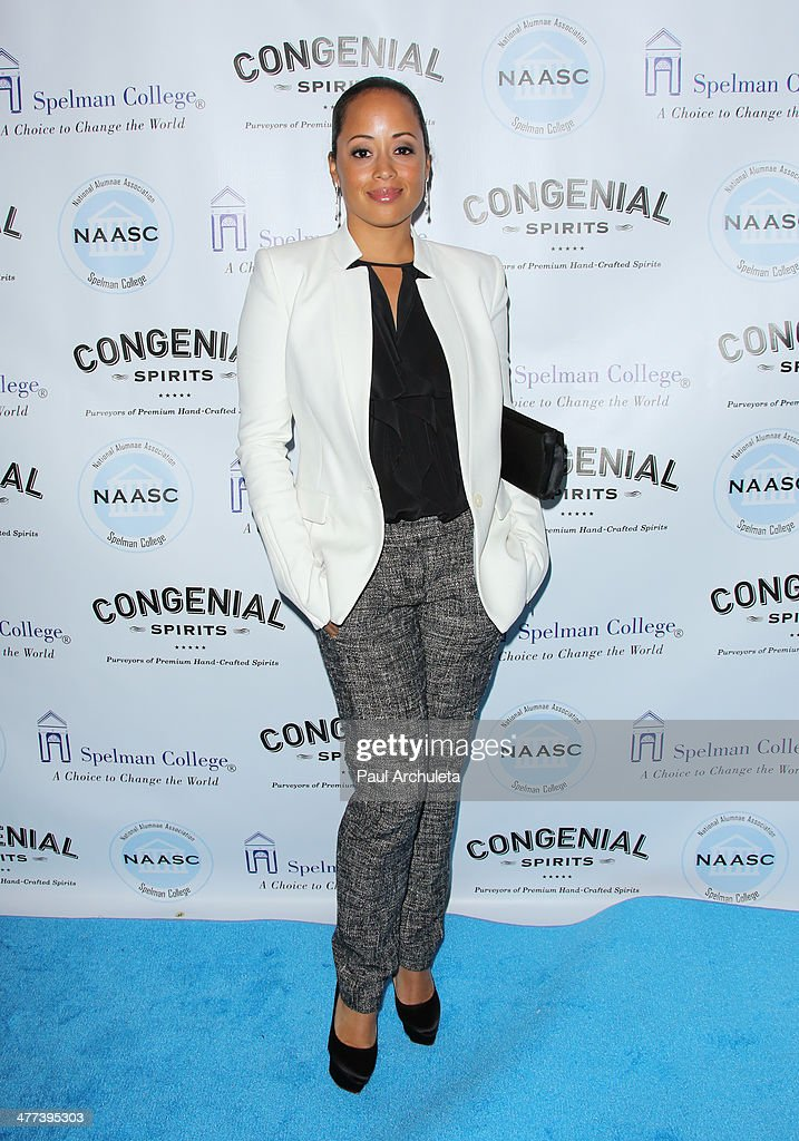 Actress <a gi-track='captionPersonalityLinkClicked' href=/galleries/search?phrase=Essence+Atkins&family=editorial&specificpeople=225171 ng-click='$event.stopPropagation()'>Essence Atkins</a> attends the National Alumnae Association of Spelman College LA Chapter toasts 20 years of fundraising on March 8, 2014 in Los Angeles, California.