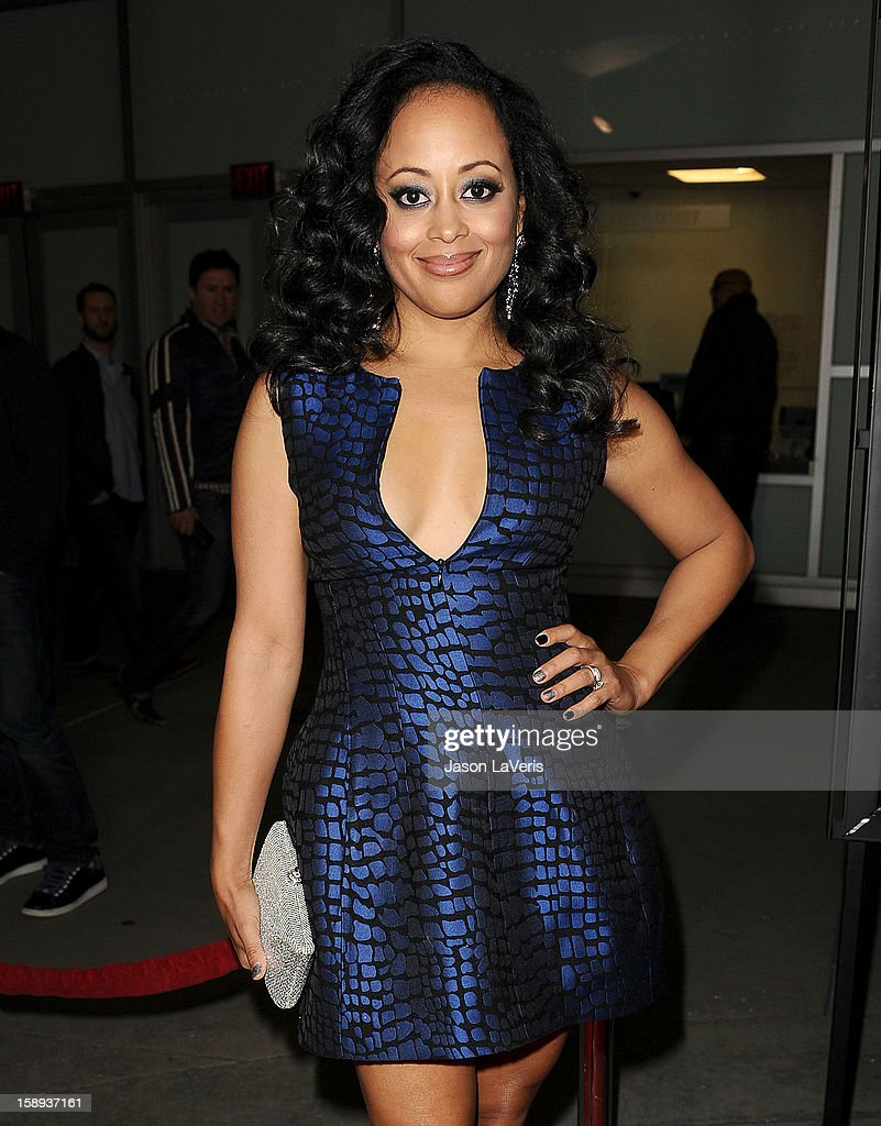 Actress Essence Atkins attends the premiere of 'A Haunted House' at ArcLight Hollywood on January 3, 2013 in Hollywood, California.