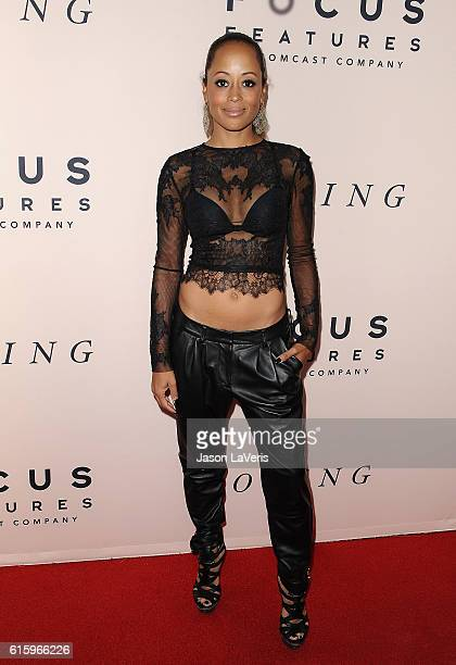 Actress Essence Atkins attends the premiere of 'Loving' at Samuel Goldwyn Theater on October 20 2016 in Beverly Hills California