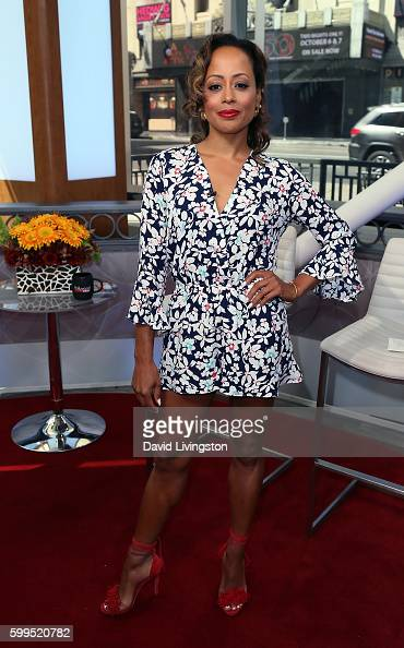 Actress Essence Atkins poses at Hollywood Today Live at W Hollywood on September 1 2016 in Hollywood California