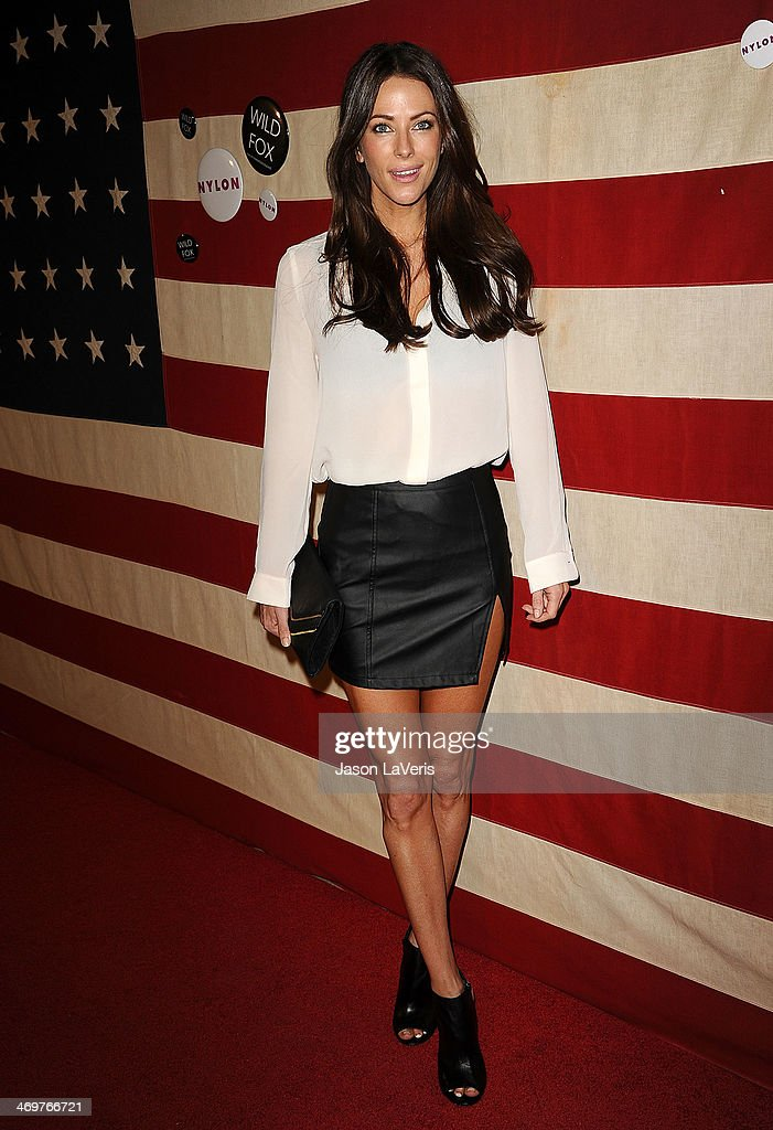 Actress Esther Anderson attends Nylon Magazine's 'America The Issue' celebration at Sunset Marquis Hotel & Villas on November 1, 2013 in West Hollywood, California.