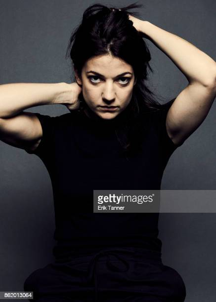 Actress Esther Garrel of 'Lover For A Day' poses for a portrait at the 55th New York Film Festival on October 10 2017