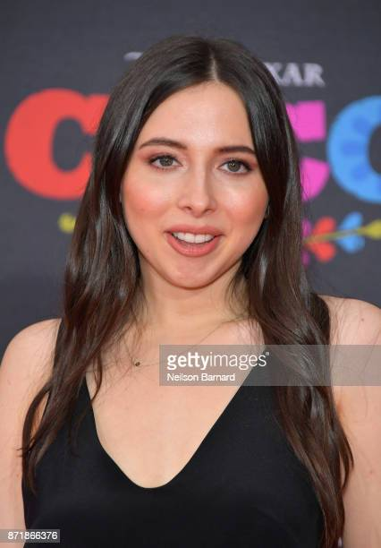 Actress Esther Povitsky attends Disney Pixar's 'Coco' premiere at El Capitan Theatre on November 8 2017 in Los Angeles California