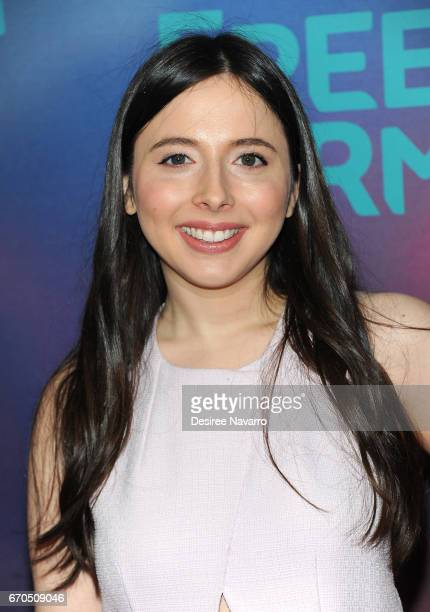 Actress Esther Povitsky attends Freeform 2017 Upfront at Hudson Mercantile on April 19 2017 in New York City