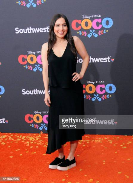 Actress Esther Povitsky attends the US Premiere of Disney Pixar's 'Coco' at El Capitan Theatre on November 8 2017 in Los Angeles California