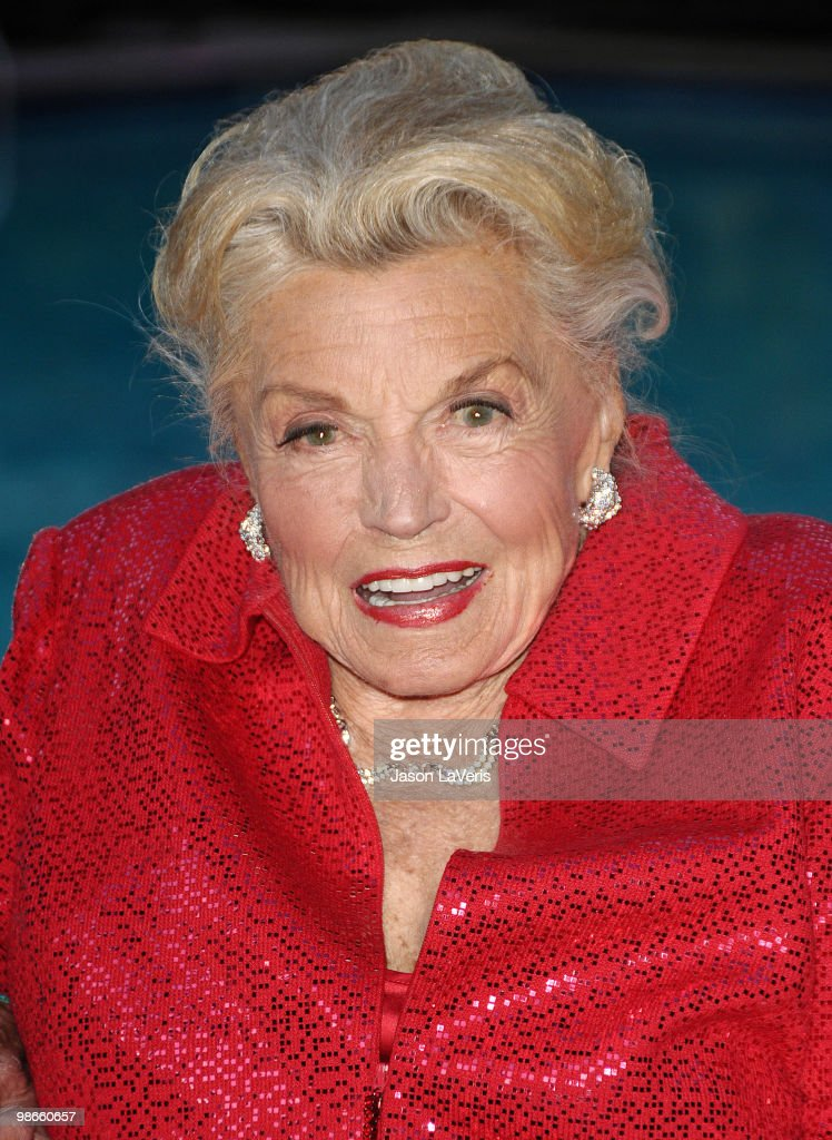 Actress <a gi-track='captionPersonalityLinkClicked' href=/galleries/search?phrase=Esther+Williams&family=editorial&specificpeople=123838 ng-click='$event.stopPropagation()'>Esther Williams</a> attends TCM's screening of 'Neptune's Daughter' at The Roosevelt Hotel on April 22, 2010 in Hollywood, California.