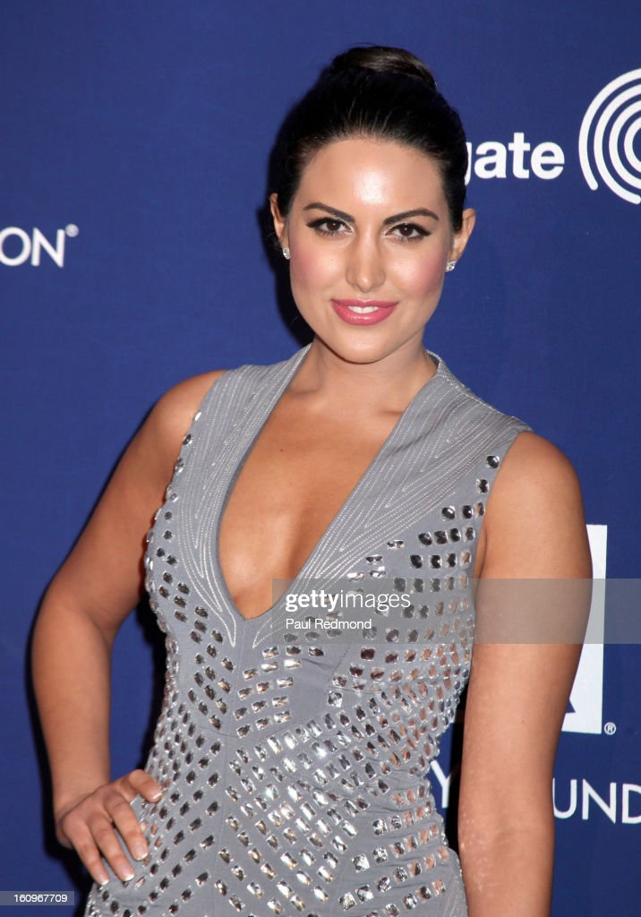 Actress Estrella Nouri arrives at the Grammy Foundation's 15th Annual Music Preservation Project at Saban Theatre on February 7, 2013 in Beverly Hills, California.