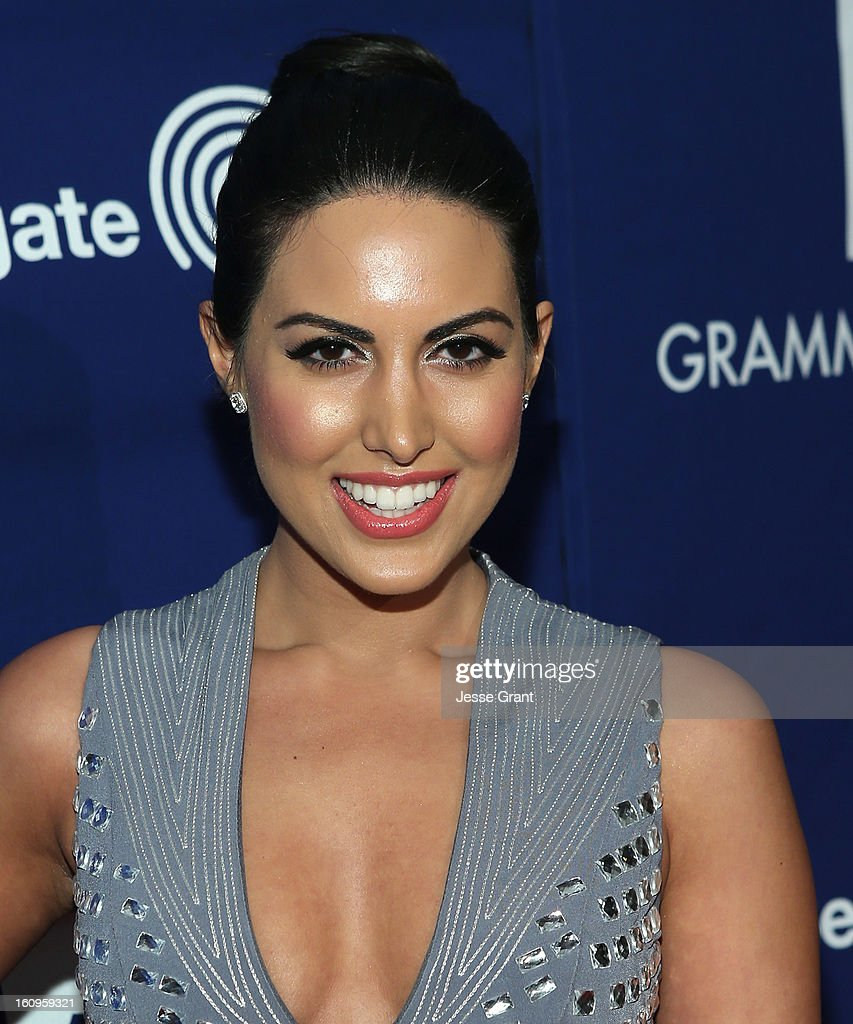 Actress Estrella Nouri attends The 55th Annual GRAMMY Awards - Music Preservation Project 'Play It Forward' Celebration highlighting The GRAMMY Foundations ongoing work to safegaurd music's history at the Saban Theatre on February 7, 2013 in Los Angeles, California.