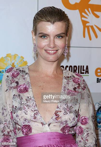 Actress Eugenia Kuzmina arrives at eZWayCares Community Santa Toy Drive on December 18 2016 in Los Angeles California