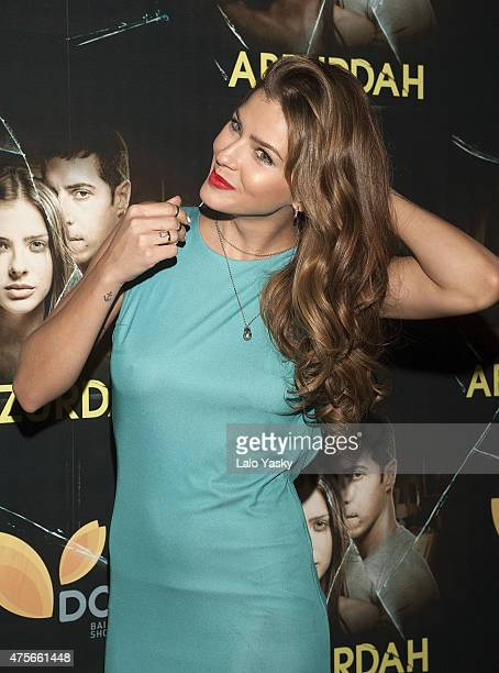Actress Eugenia 'La China' Suarez attends the premiere of Abzurdah at the Hoyts Cinemas on June 2 2015 in Buenos Aires Argentina