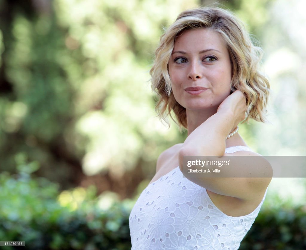 Actress Euridice Axen attends 'La Tre Rose Di Eva 2' photocall at Mediaset Studios on July 23, 2013 in Rome, Italy.