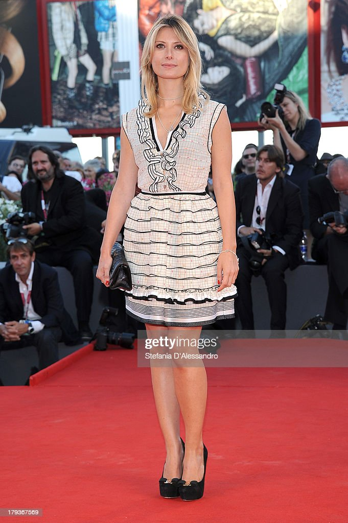 Actress Euridice Axen attends the 'The Zero Theorem' Premiere during the 70th Venice International Film Festival at Sala Grande on September 2, 2013 in Venice, Italy.