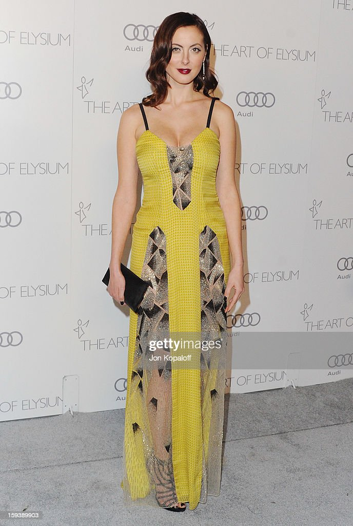 Actress Eva Amurri arrives at the Art Of Elysium's 6th Annual Heaven Gala on January 12, 2013 in Los Angeles, California.