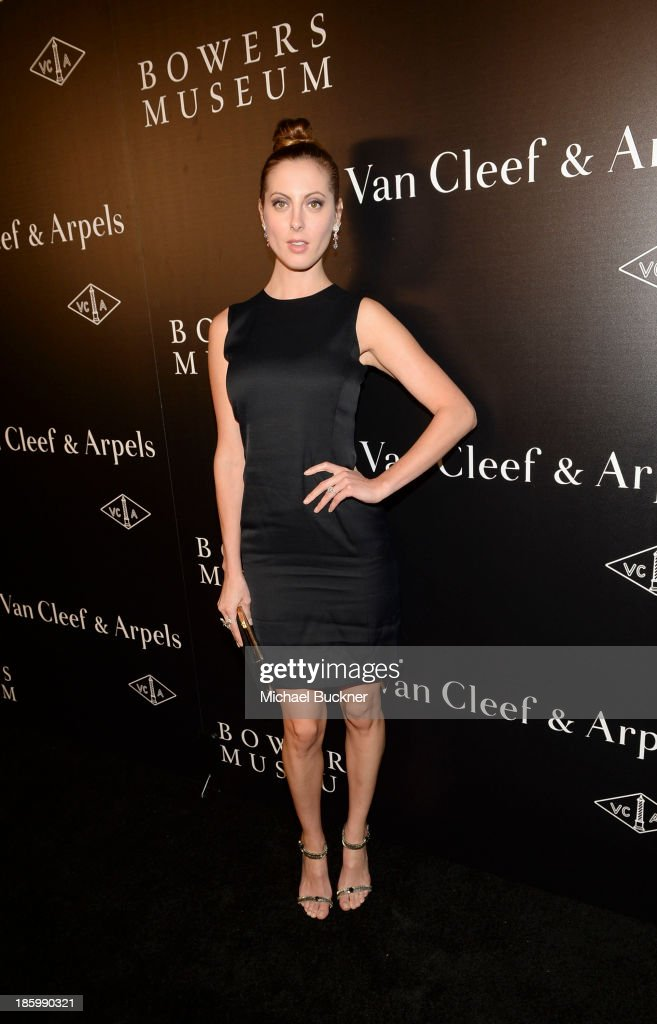 Actress Eva Amurri attends A Quest for Beauty: The Art Of Van Cleef & Arpels - Red Carpet at The Bowers Museum on October 26, 2013 in Santa Ana, California.