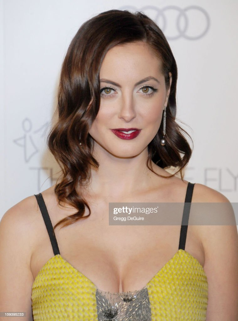 Actress Eva Amurri Martino arrives at The Art of Elysium's Heaven Gala at 2nd Street Tunnel on January 12, 2013 in Los Angeles, California.