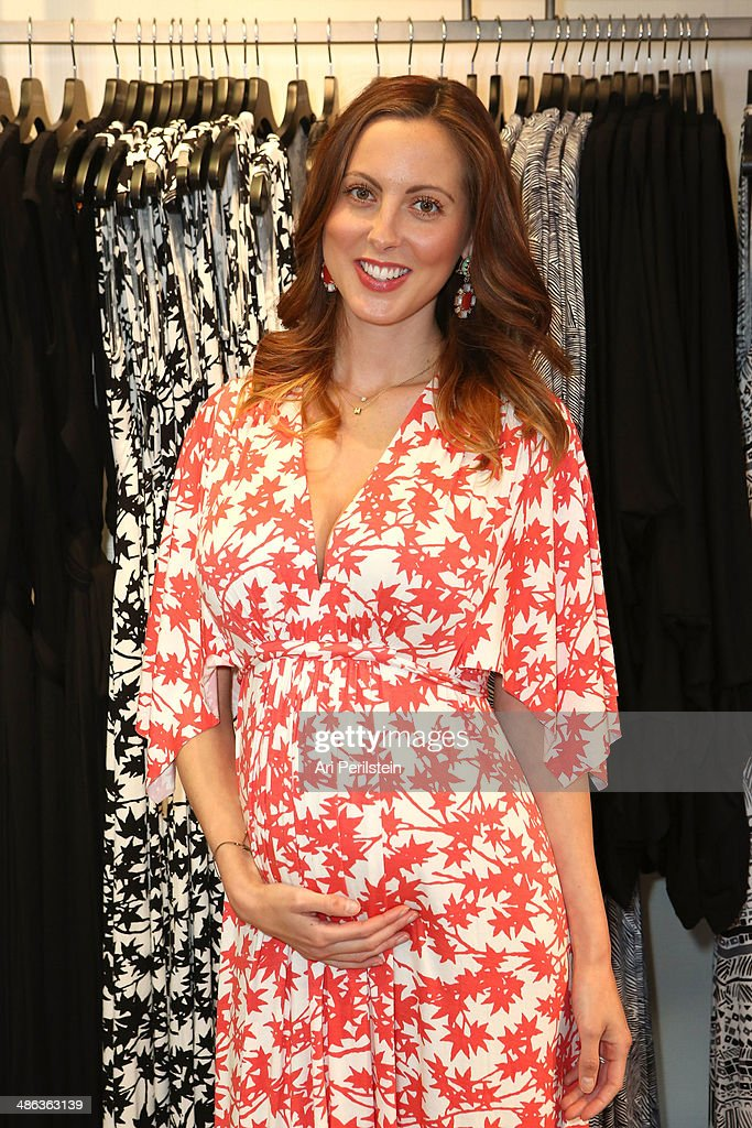 Actress Eva Amurri Martino attends Rachel Pally Hosts A Trunk Show at A Pea In The Pod on April 23 2014 in Beverly Hills California